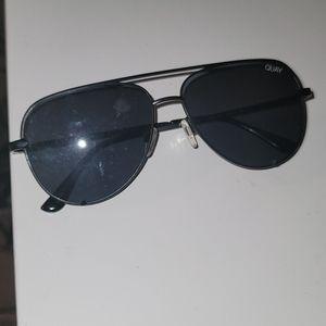 Quay x Desi black sunglasses